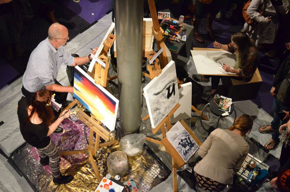 Art Battle Manchester III